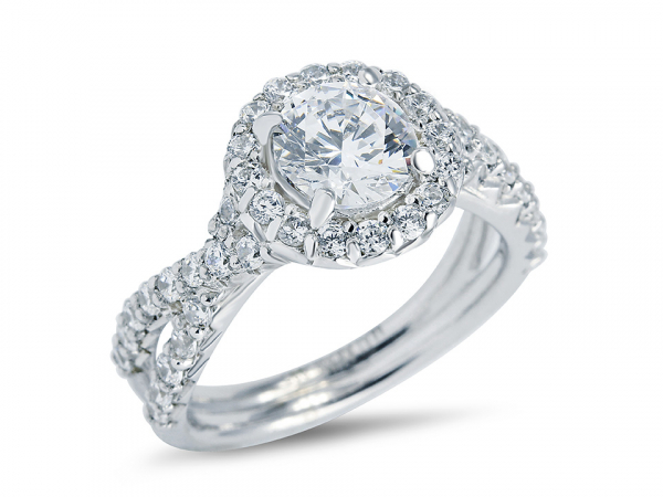 Diamond Engagement Ring by MDC